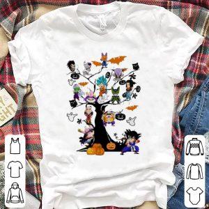 Awesome Son Goku - Dragon Ball Character On The Halloween Tree shirt