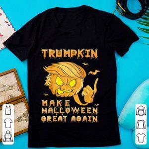 Beautiful Trumpkin Make Halloween Great Again Trump Scary Pumpkin shirt