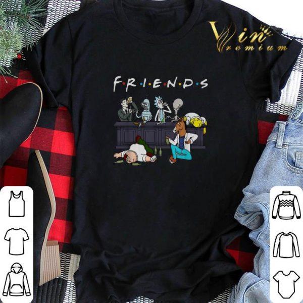 Cartoon Characters Netflix Friends Tv Series shirt sweater