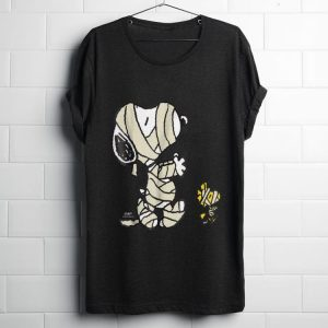 Funny Peanuts And Snoopy Mummy shirt