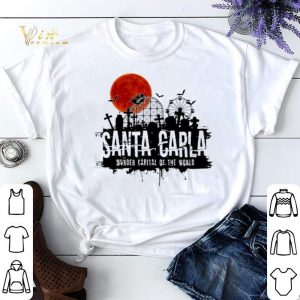Halloween Santa Carla Murder Capital Of The World Sunset shirt