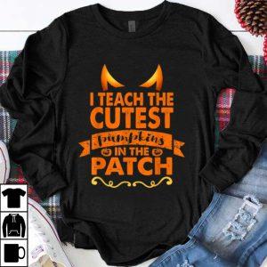Halloween Teacher Cutest Pumpkin Adult shirt