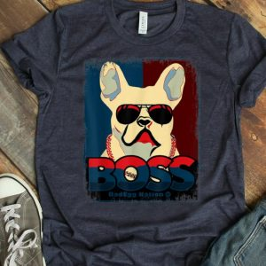 Hot Boss french bulldog shirt