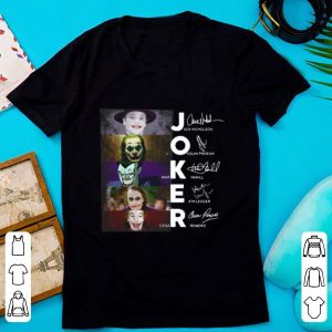 Hot Joker All Version Signature shirt