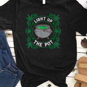 Light Up The Pot Marijuana Witches shirts