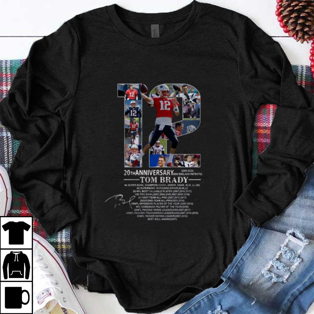 New England Patriots 2020.Nice 20th Anniversary Tom Brady New England Patriots 2020
