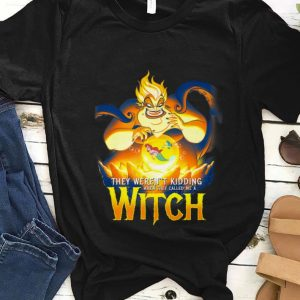 Nice Disney Little Mermaid Ursula Evil Witch shirt
