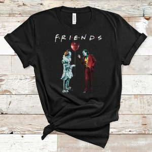 Nice Friends Pennywise With Joker shirt