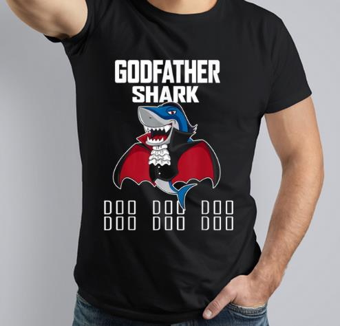 Nice Godfather Shark Doo Doo Doo Vampire Halloween shirt