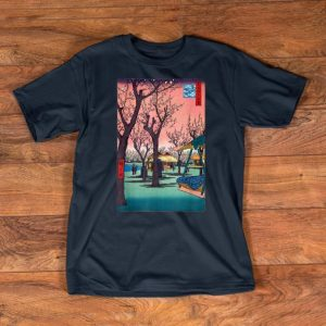 Nice Japanese Woodblock Art Japanese Cherry Blossom shirts