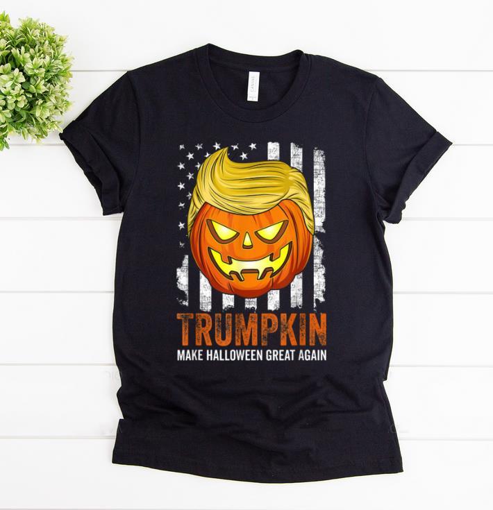 Nice Usa Trumpkin Make Halloween Great Again Funny shirt 1 - Nice Usa Trumpkin Make Halloween Great Again Funny shirt