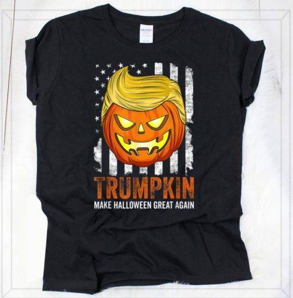 Nice Usa Trumpkin Make Halloween Great Again Funny shirt