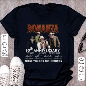 Official 60th Anniversary Thank You For The Memories 1959-2019 Bonanza shirt