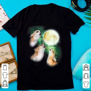 Official Chihuahua Moon Parody Howl-ing Wolve Halloween shirt