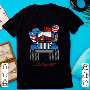 Official Cooper Jeep Flag American shirt
