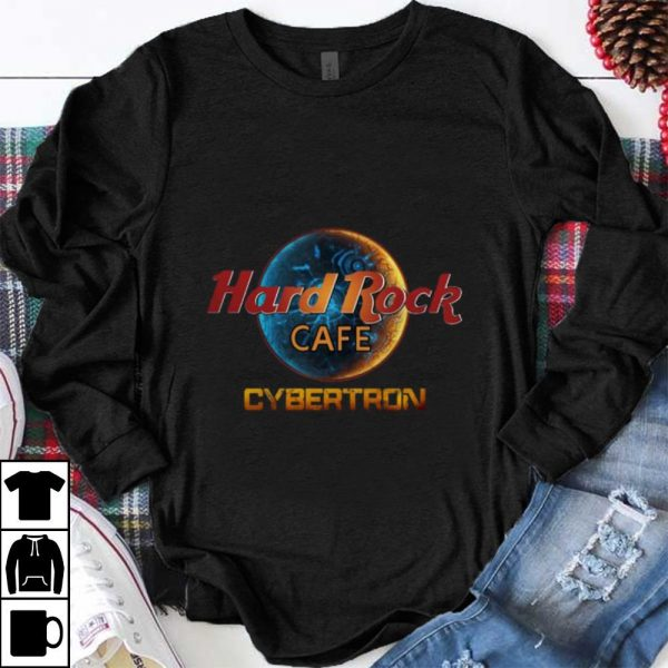 Official Cybertron Hard Rock Cafe shirt