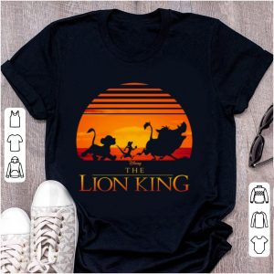 Official Disney Lion King Classic Sunset Squad shirt