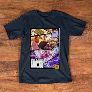Official East And West UFC 244 Florida Nate Diaz Vs Jorge Masvidal shirt