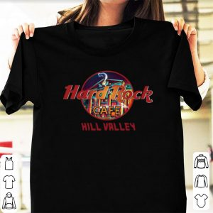 Official Hard Rock Cafe Hill Valley shirts