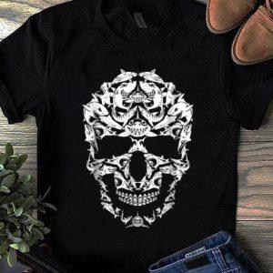 Official Shark Skull Skeleton Halloween Costume Idea Gift shirt