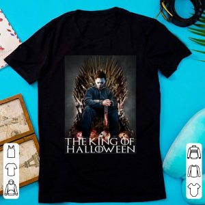 Official The King Of Halloween Michael Myers shirt