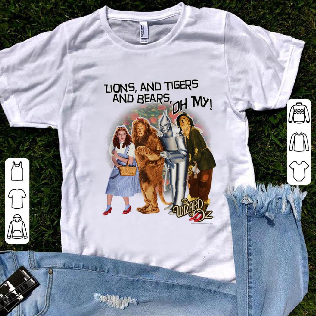Official The Wizard Of Oz Lions And Tigers And Bears shirt 1 - Official The Wizard Of Oz Lions And Tigers And Bears shirt
