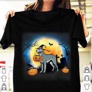 Original Irish Wolfhound And Pumpkin Halloween shirt