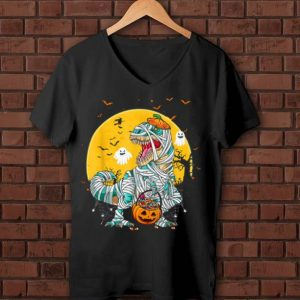 Original Mummy Pumpkin Dinosaur Halloween Kids shirt