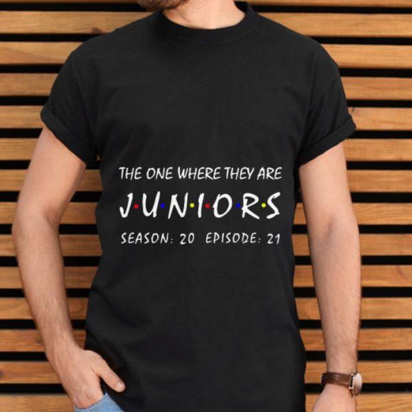 Original The One Where They Are Juniors Season 20 Episode 21 shirt