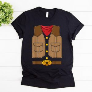 Original Western Cowboy Costume Party Halloween shirt