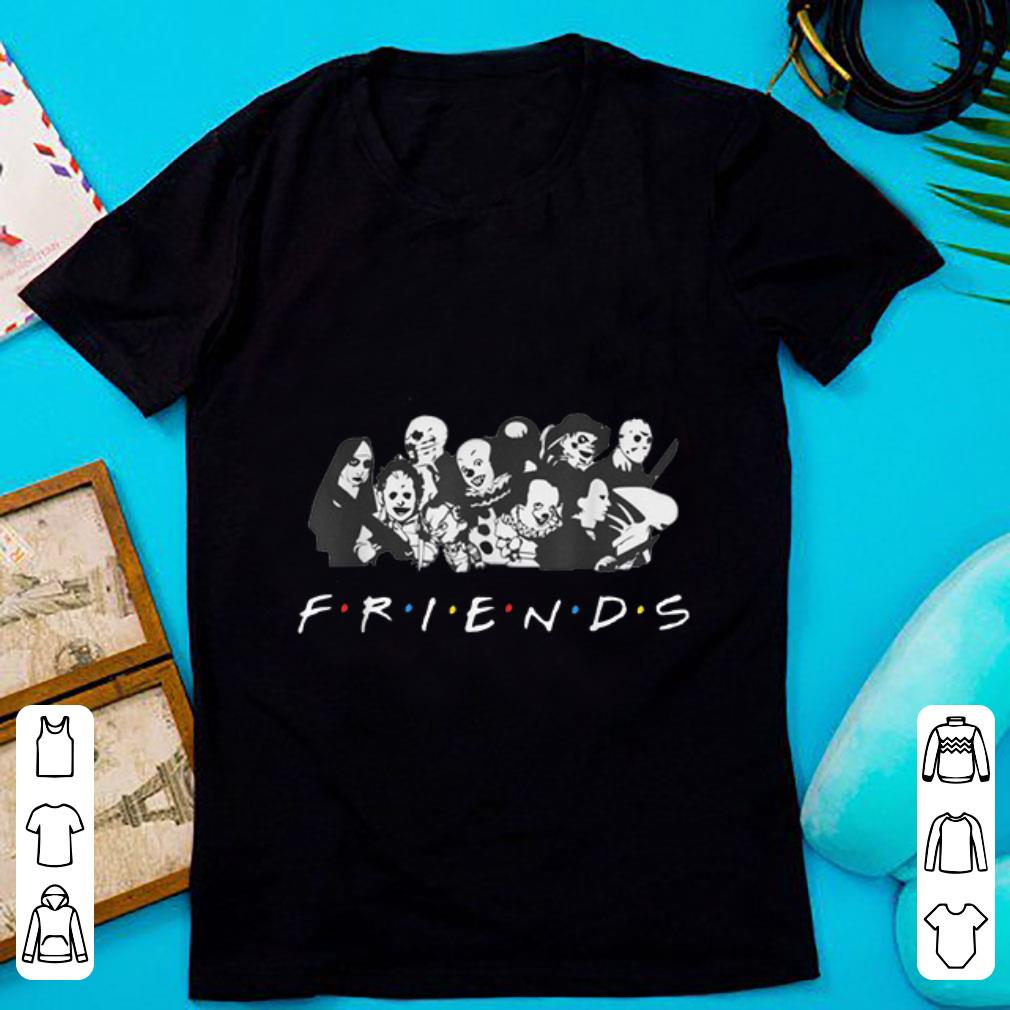 Premium All Halloween Characters Friends shirt 1 - Premium All Halloween Characters Friends shirt