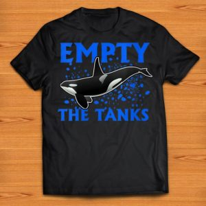 Premium Empty The Tanks Killer Whale Orca shirts