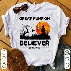 Premium Great Pumpkin Believer Since 1966 Snoopy Witch shirt
