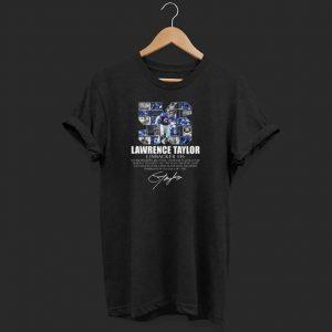 Premium Lawrence taylor Linbacker 56 Signature shirts