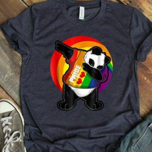 Premium Panda Dab - Pride Rainbow Dabbing Panda LGBT shirt