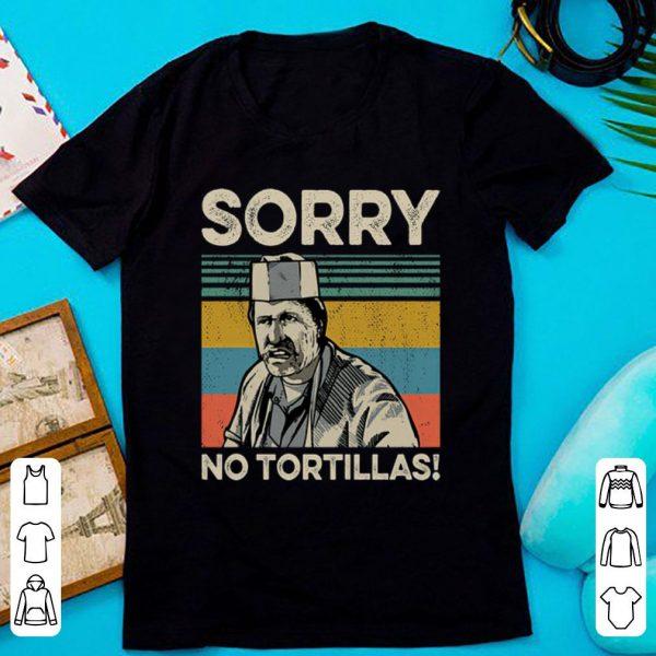 Premium Vintage Blood In Blood Sorry No Tortillas shirt