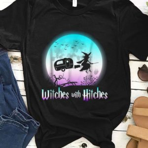 Premium Witches With Hitches Halloween Camping shirt