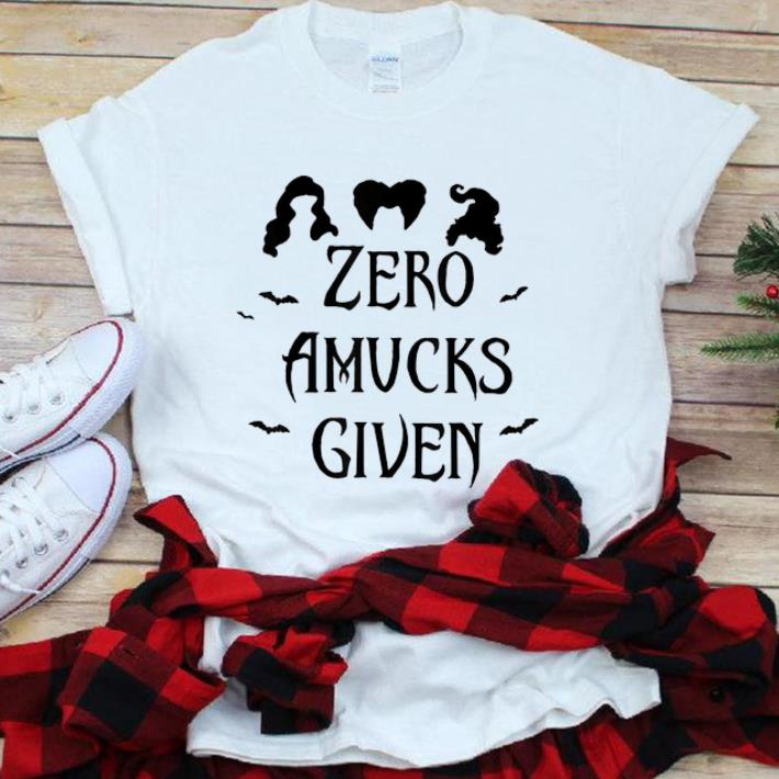 Premium Zero Amucks Given Halloween shirt 1 - Premium Zero Amucks Given Halloween shirt