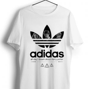 Pretty Adidas All Day I Dream About Harry Potter shirt