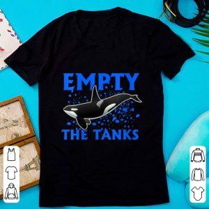 Pretty Empty The Tanks Killer Whale Orca shirt