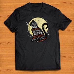 Pretty Halloween Black Cat Twist The Bones And Bend The Back shirts