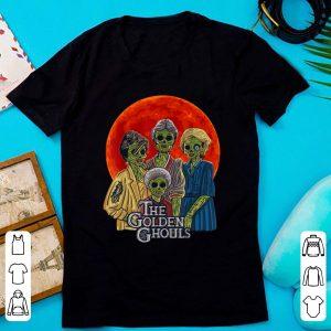 Pretty Halloween The Golden Ghouls Blood Moon shirt