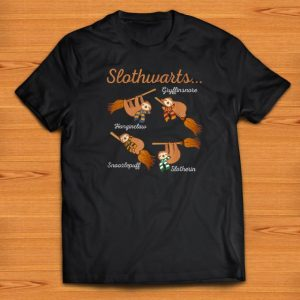 Pretty Harry Slothwarts-Sloth Halloween shirts