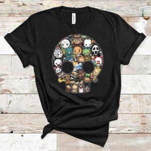 Pretty Horror Character Skull shirt