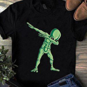 Top Dabbing Alien Dab Hip Hop Funny UFO Gift Boys Kids shirt
