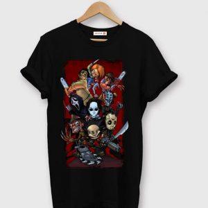 Top Horror Movie Slashers X Reader shirt