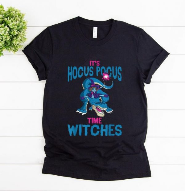 Top It's Hocus Pocus Time Witches Witchcraft Halloween Costume shirt