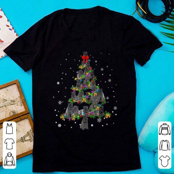 Awesome Cute Kerry Blue Terrier dog Christmas Tree gift decor Xmas shirt