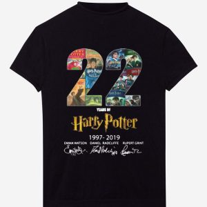 Awesome Harry Potter 22 Years 1997 - 2019 shirt