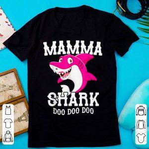 Awesome Mamma Shark For Mother Grandma Birthday Halloween Christmas shirt